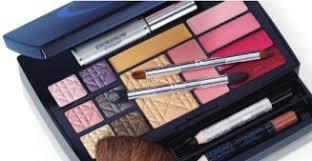 clinique makeup palette has high impact mascara 4 colour surge eyeshadows double face powder blusher 4 dior