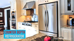 Cabinet Depth Refrigerator Reviews What Is A Counter Depth Refrigerator Youtube