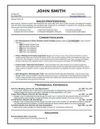 sales position resume samples financial sales representative