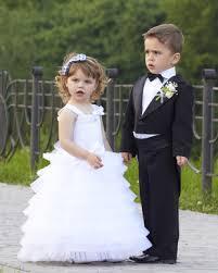 tenue enfant mariage comment et combien choisir d enfant pour un cortège mariage