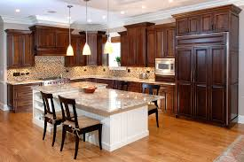 kitchen with wood cabinets kitchen wood cabinets hbe kitchen