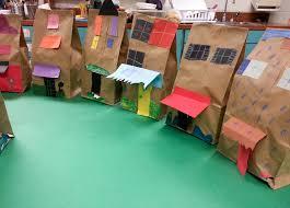 paper bag buildings 1st art with mrs nguyen paper bag buildings 1st