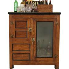 Oak Bar Cabinet Oak 1900 Antique Icebox Or Bar Cabinet Sold On Ruby