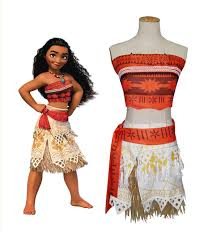 Dipper Pines Halloween Costume Aliexpress Buy Kid U0027s Princess Moana Costume Moana
