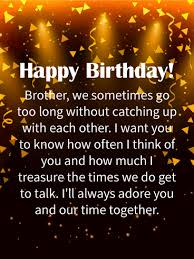 i u0027ll always adore you happy birthday wishes card for brother