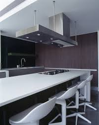 Corian Bench Top Minosa Design Open Plan High Ceiling Void Large Dinning Table