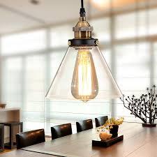 Clear Glass Pendant Light Aliexpress Com Buy Vintage Loft Clear Glass Pendant Light For