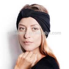 cooling headband turban girl knitted cooling makeup spa manufacturer athletic