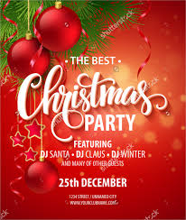 christmas party invitation template 21 christmas party invitation
