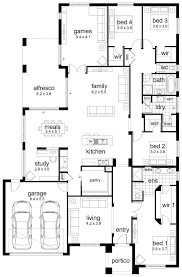 4 Bedroom Bungalow Floor Plans by 4 Room House Plan Pictures Georgia Contemporary Floor 800x1001