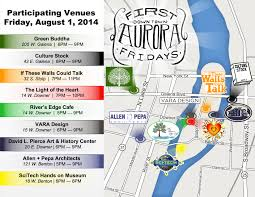 Aurora Illinois Map by Aug 1 Is First Fridays In Downtown Aurora Aurora Downtown