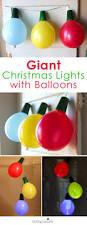 giant balloon christmas lights and ornaments diy holiday home decor