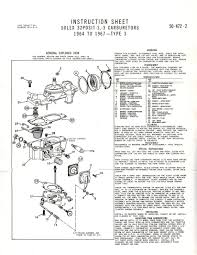 solex rebuild instructions and exploded parts diagram g503