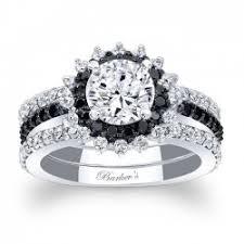 black diamond bridal set barkev s black diamond halo bridal set 7969sbk