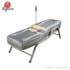 best heated massage table byriver competitive price economic half body electric tourmaline