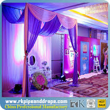 wedding event backdrop 2014 hot sale event wedding aluminum backdrop stand pipe drape