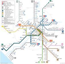 Toronto Subway Map Map Of Rome Commuter Rail Stations U0026 Lines
