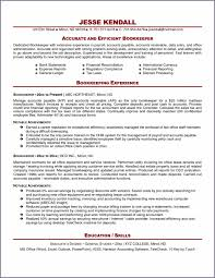 Accounts Receivable Job Description Resume by Bookkeeper Accounting Bookkeeper Resume Skills Bookkeeper Resume