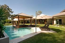 hardtop gazebo method sunshine coast modern pool remodeling ideas