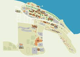 Rose State College Map by Michigan Tech Campus Map