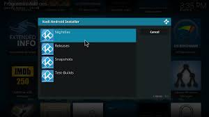 kodi for android kodi android installer kodi open source home theater software