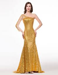 Gold Sequin Prom Dress Vosoi Com