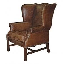 Library Chair Leather Cigar Chair Foter