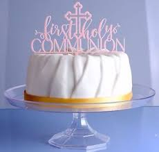 communion cake toppers handmade holy communion cake topper ebay