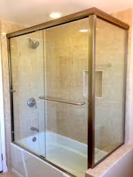 bathtub glass doors frameless bathtub with door mobroi com
