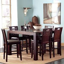 tall dining room tables brilliant high dining room tables and chairs tall sets set