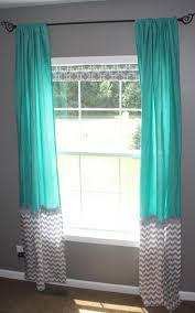 Aqua And Grey Curtains Gray White And Teal Bedroom Chevron Ideas Curtain Aqua Walls