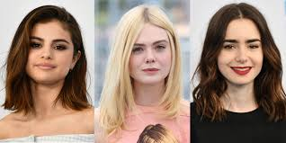 mid length lob hair mid length hairstyle inspiration from the celebs