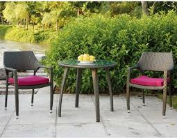 Wicker Bistro Table And Chairs Patio Bistro Table And Chair Set Contemporary Patio Chicago