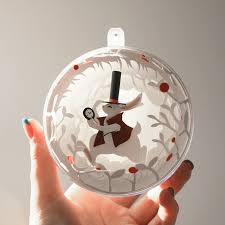 christmas decorations from wonderland on behance