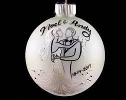 wedding ornaments etsy