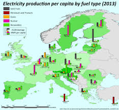 European Country Map by Infographic Europe U0027s Electricity Consumption By Country And Fuel