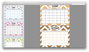 10 best images of calendar templates for teachers preschool