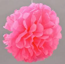 Conhecido 4 Balão Pompom De Papel Bola Flor Seda Enfeite Lanterna 20cm - R  @LU75