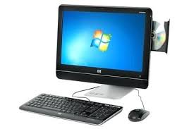 hp ordinateur de bureau darty ordinateur bureau pc de bureau hp all in one ms228fr darty