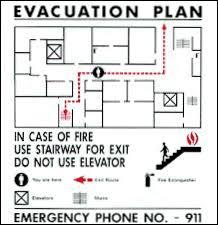 fire and emergency evacuation procedures alumni gym complex