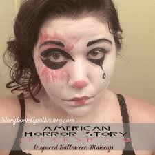 Halloween Mime Makeup by Ahs Freakshow Halloween Makeup Looks Storybook Apothecary