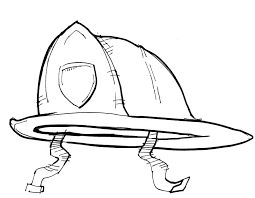 train hat coloring page fireman hat coloring page firefighter pages printable medium size of