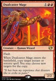 the 8x8 theory for edh commander izzet arjun copy spells we