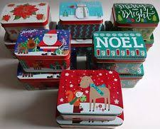 christmas cookie boxes ebay