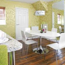 wallpaper ideas for dining room kitchen dining room wallpaper dining room decor ideas and