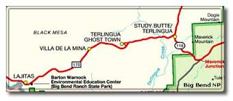 where is terlingua on a map ghost towns and desert dreams terlingua tx and more desertusa