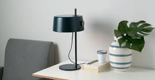 Esszimmer Lampe Messing Zoom Tischlampe Schieferblau Und Messing Made Com