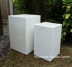 Square Planter Pots by Large White Terrazzo Tall Square Pot Planters Woodside Garden