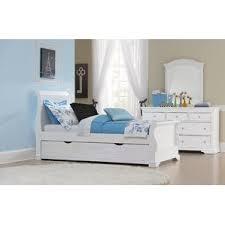 Wood Sleigh Bed Dark Wood Sleigh Bed Wayfair