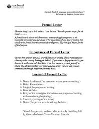 best ideas of how to write formal letter through email with